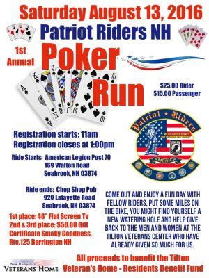 8:13:16 Patriot Riders Poker Run